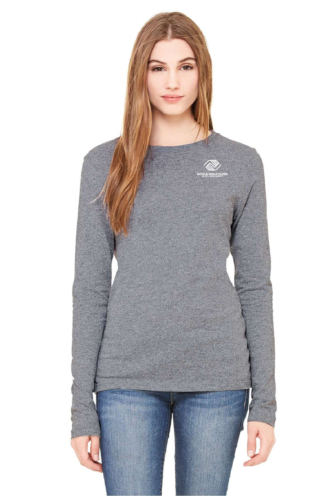 BGC-B6500 BELLA CANVAS Ladies' Jersey Long-Sleeve T-Shirt